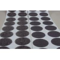 Buy cheap White Sticky Adhesive Hook And Loop Dots For Transparent Release Paper from wholesalers