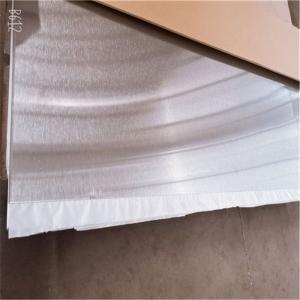China 14 Ga 13 Ga 4x8 Brushed Stainless Steel Sheet Metal Panel 201 202 316 Ss Plate Hot Rolled wholesale