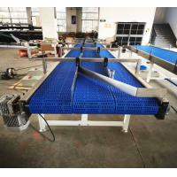 China Blue Automated Conveyor Systems With More Lanes For Industry Production Needs wholesale