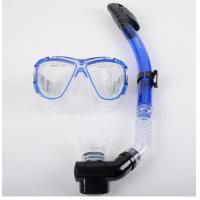 China Diving equipment silicone diving mask set of underwater ventilation pipeDiving mask + snorkel wholesale