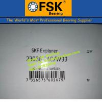 Quality Brass Cage Spherical Roller Bearings SKF 23038 CAC/W33 Size 190*290*75mm for sale
