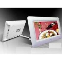 China 1080p HD Electronic Picture Display , Calendar Function Electrical Photo Frame wholesale