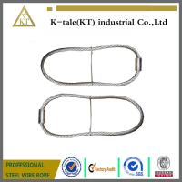 China cheap rigging wire rope sling assembled with wire rope thimble for buildings wholesale