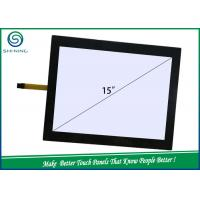 Wholesale 15'' TP 5 Wire Resistive Touch Panel / Touch Screen With ITO Film To ITO Glass Layers from china suppliers