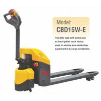 Buy cheap Electric Pallet Jack With 1500KGS Lifting Capacity , CBD15W-E , Economic Model from wholesalers
