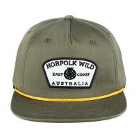 China Adjustable Classic Blank Plain Rope Snapback Hat With Leather Strap on sale