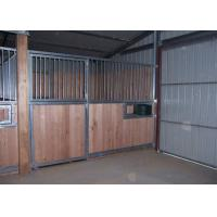Buy cheap Self-contained Horse Stable Partitions For Prefab Horse Barns With Swivel Feeder from wholesalers