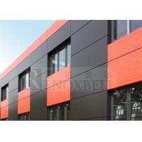 China Rockwool Insulated Aluminum Architecture Panels for Architectural Buliding wholesale