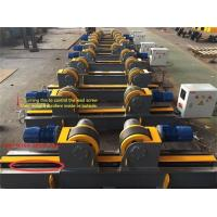 Buy cheap Lead Screw Rubber Roller Pipe Stands Welding Rollers Adjustable Wheels from wholesalers