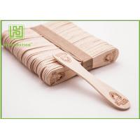 Bulk Custom Printed Wooden Spoons , Ice Cream Taster Spoons With Different Size