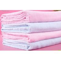 China 100%cotton printed terry towel blanket wholesale