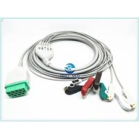 Buy cheap Patient Ge Ecg Cables , 5 Lead GE One Piece ECG Cable CE / ISO Standard from wholesalers