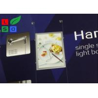 China Magnetic LED Backlit Light Box A3 A4 Graphic Size With Cable Hanging CE Approved wholesale