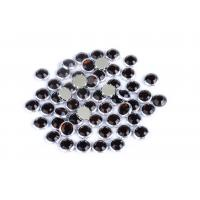 Custom Color Rimmed Rhinestones Flatback Good Stickness High Color Accuracy for sale