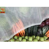 China Vegetable Greenhouse Insect Net , Agricultural Netting , HDPE Materials , White Color on sale
