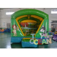 China Kids Outdoor Party Inflatable Bounce House Jungle Animal Theme wholesale