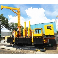 China No Air Pollution Mini Sheet Hydraulic Pile Driving Machine wholesale