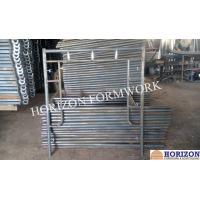 China Stable Frame Scaffolding System , Q235 Steel Scaffolding Frame Type 1524x1700mm wholesale