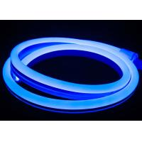 China Blue Led Neon Tube Light Flex  LED Neon Rope Light 14mm*26mm 10W/M Waterproof Soft Neon Strip Lights on sale