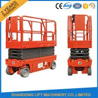 China Small Mobile Electric Hydraulic Lift Table for Rental / Material Handling / Aerial Work wholesale