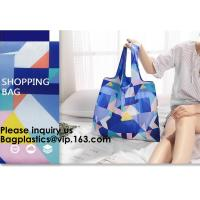 China POLYESTER NYLON BAGS, BASKET, ECO CARRIER, REUSABLE TOTE BAGS, SHOPPING HANDY HANDLE VEST, FOLDABLE wholesale