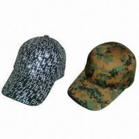 China Earflap winter baseball caps, made of cotton wholesale