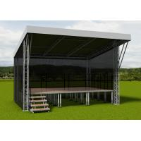 China 2015 Newly Aluminum roof truss with portable stage on sale