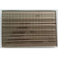 China Hotel Wire Mesh Laminated Art Glass Panel Heat - Resistant Sound Insulation wholesale