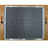 China Square Microchannel Tubular Heat Exchanger Aluminum Fin Material wholesale