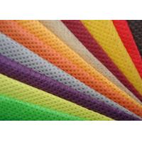 China Green Orange Blue Needle Punching Non Woven Fabric Rolls CE ISO9001 Certificated wholesale