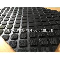 China Heavy duty rubber car mats , Custom size Anti-slip rubber mats for garage floors wholesale
