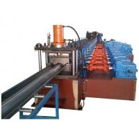 China China High Quality 2 Waves Highway Guardrail Roll Forming Machine Drived By 13 sets High Strengthen Rollers wholesale