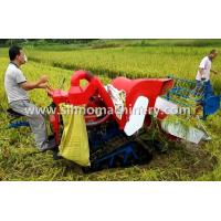 China 4LZ-0.8 without tail pulley mini muddy field applicable wheat combine harvester wholesale
