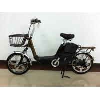 China 18 Inch Electric Motorized Bicycle with 48V 12A Lead Acid Rechargeable Battery wholesale