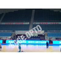 China Fast Shipping Full Color Indoor P4 Stadium LED Display SAGEOPTO Delivery 1R1G1B Basketball LED Display wholesale