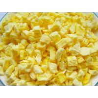 China Nutritious Freeze Dried Fruit , Freeze Dried PineappleRaw Fruit Flavour wholesale