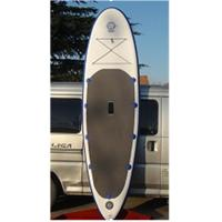 China Morden Womens Inflatable Paddle Board , Stand Up Surfboard Yoga Mat Non Slip wholesale