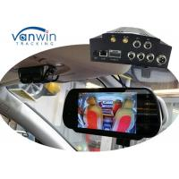 Wholesale Vehicle Security cameras system NVR 4 Channel Mobile DVR 3G GPS WIFI MDVR HDD Storage from china suppliers