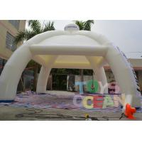 Quality Durable Inflatable Party Tent Spider Shaped For Outdoor Trade Exhibition / Events for sale