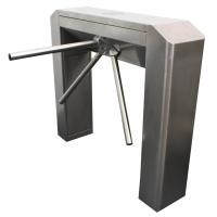 China RFID ID / IC cards control Subway Station tubular security barriers and gates wholesale