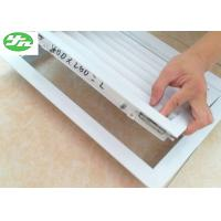 China Aluminum Alloy Frame Return Air Vent Grille Air Conditioning Vent Covers on sale