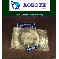 China Single Direction Thrust Ball Bearing p5 With Single Row , Japan NSK 51110 wholesale