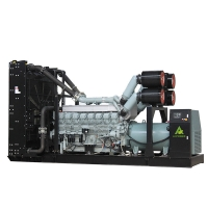 China SME 650kva 3 Cylinde Mitsubishi Diesel Generator 520kw S6R2-PTA-C on sale