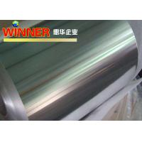 China Foil Type Aluminum Strip Roll 10 - 1050mm Width Good Heat Prevention Performance wholesale