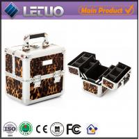 China LT-MC430 Cosmo Leopard Makeup Case beauty cosmetic make up case wholesale
