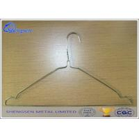 China YS105 Galvanized Wire Coat Hangers For Laundry Thickness 2.2mm 16 Inches wholesale
