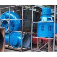 China 50kW - 1000kW Monoblock Vertical Francis Turbine Package Water Turbine wholesale