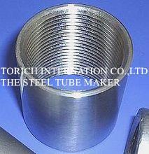 Quality Galvanized DIN 2440 EN10255 Threaded Welded Seamless Steel Pipe For Transportati for sale