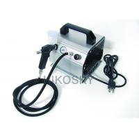 China Silent 2.1Bar Auto Start Gravity Feed Airbrush Tanning Kit with Oil-less Piston Compressor wholesale
