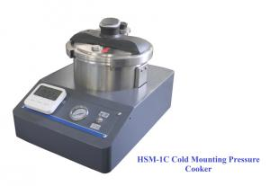 China HSM-1C 5L Metallographic Mounting Press Quick Curing Of Mounting Resin wholesale